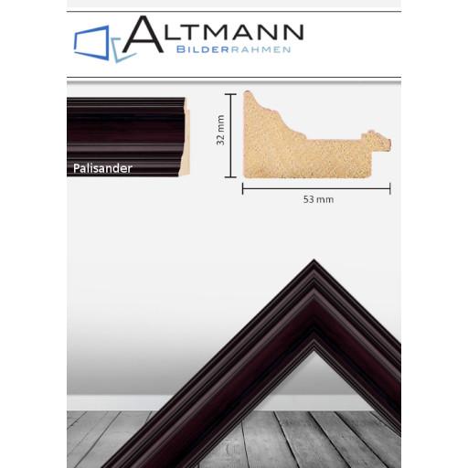 Holzbilderrahmen Palisander 53