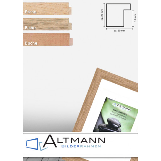 Holzrahmen Solid Wood 20x20