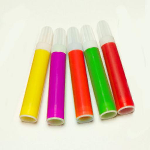 Kreidemarker Set, farblich sortiert, 5 Stück
