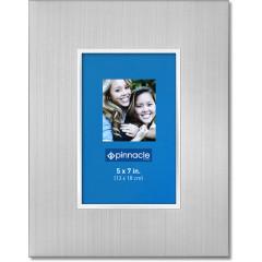 Fotorahmen mit silberner Innenkante