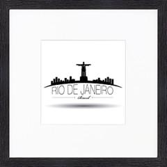 "Nielsen Gerahmtes Bild ""Rio de Janeiro"" 30,0 x 30,0 cm"