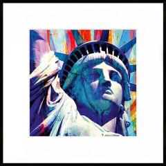 "Nielsen Gerahmtes Bild ""Statue of Liberty"" 50,0 x 50,0 cm"