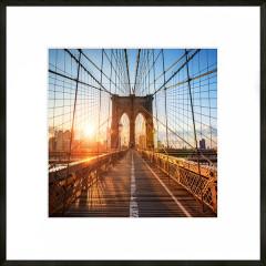 "Nielsen Gerahmtes Bild ""Brooklyn Bridge"" 50,0 x 50,0 cm"