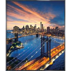 "Nielsen Gerahmtes Bild ""New York City Sunset"" 50,0 x 60,0 cm"