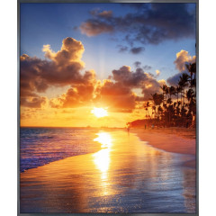 "Nielsen Gerahmtes Bild ""Sunset Beach"" 50,0 x 60,0 cm"