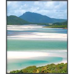 """Nielsen Gerahmtes Bild """"Weißer Strand"""" 50,0 x 60,0 cm"""