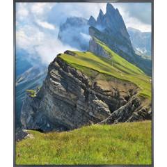 "Nielsen Gerahmtes Bild ""Berge"" 50,0 x 60,0 cm"