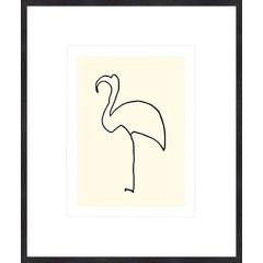 """Nielsen Gerahmtes Bild """"Le flamand rose – Picasso"""" 50,0 x 60,0 cm"""
