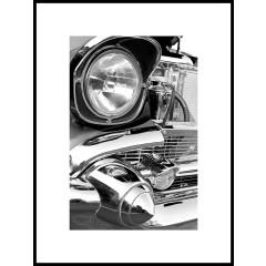 "Nielsen Gerahmtes Bild ""Car Chrome"" 60,0 x 80,0 cm"