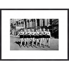 "Nielsen Gerahmtes Bild ""Frauen New York"" 80,0 x 60,0 cm"
