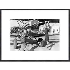 """Nielsen Gerahmtes Bild """"Historisches Flugzeug"""" 80,0 x 60,0 cm"""