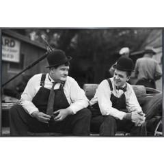 """Nielsen Gerahmtes Bild """"Laurel und Hardy"""" 90,0 x 60,0 cm"""
