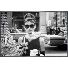 """Nielsen Gerahmtes Bild """"Audrey Hepburn"""" 90,0 x 60,0 cm"""