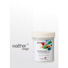 Strukturpaste Weiß Feinsand 100 ml