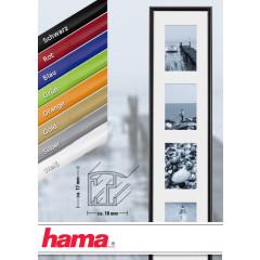 Hama Kunststoff-Galerierahmen Malaga