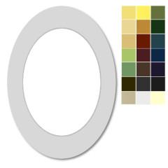 Passepartout Oval / Ausschnitt Oval nach Maß
