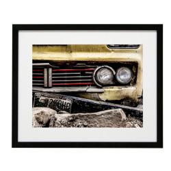 Gerahmtes Bild Cars Nr10 – Kunststoffrahmen Schwarz 40 x 50