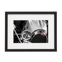 Gerahmtes Bild Oldtimer Cars Nr13 – Kunststoffrahmen Schwarz