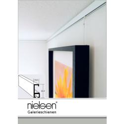 Nielsen Galerieschiene Economy 2,0m