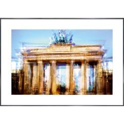 "Nielsen Gerahmtes Bild ""Brandenburger Tor"" 118,9 x 84,1 cm"