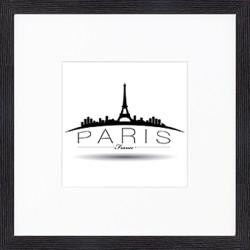 """Nielsen Gerahmtes Bild """"Paris"""" 30,0 x 30,0 cm"""