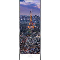 "Nielsen Gerahmtes Bild ""Paris at Evening"" 52,0 x 150,0 cm"