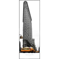 "Nielsen Gerahmtes Bild ""Flatiron Building"" 52,0 x 150,0 cm"