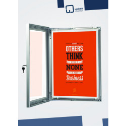 Plakat Schaukasten
