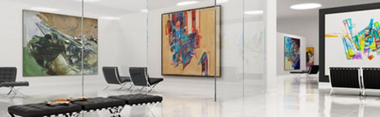 Objektausstattung Galerie