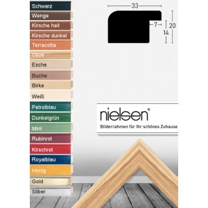 Nielsen Bilderrahmen aus Holz und Alu auf Maß