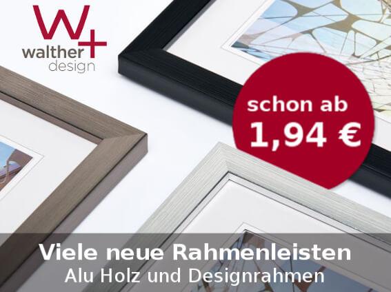 Neue Rahmen von Walther Design
