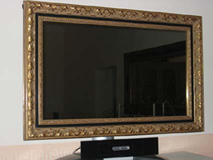 LCD TV-Barockrahmen
