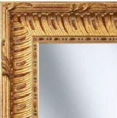 Spiegelrahmen in Antikoptik