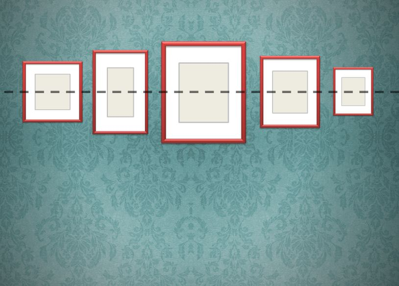 anleitung bilder arrangieren und positionieren. Black Bedroom Furniture Sets. Home Design Ideas