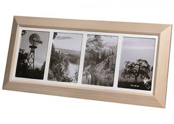 Landschaftsfotografien im Fotorahmen